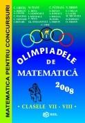 Olimpiadele de matematica 2008 - clasele VII-VIII