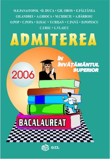 Admiterea in invatamantul superior 2006