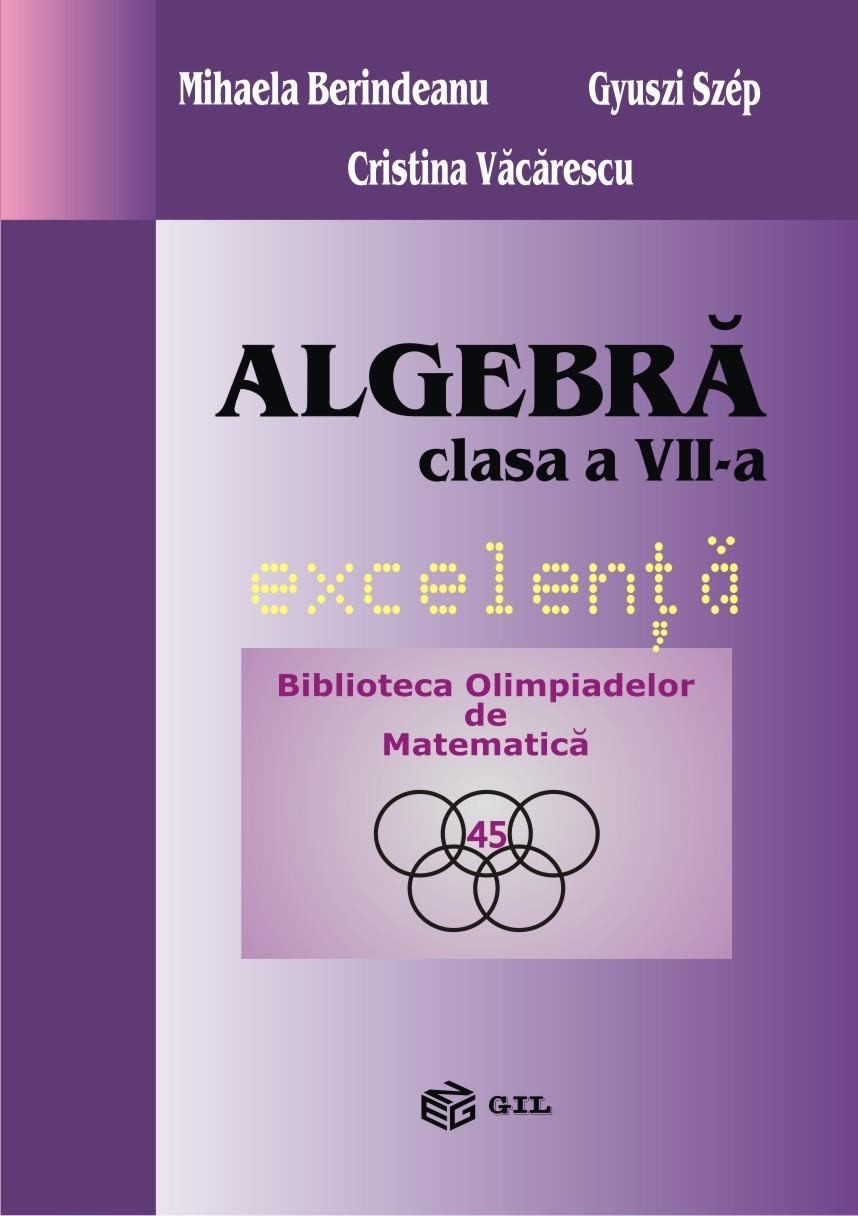 Algebra clasa a VII-a excelenta