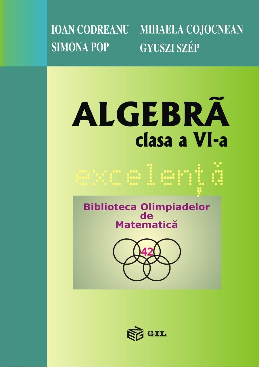 Algebra clasa a VI-a Excelenta