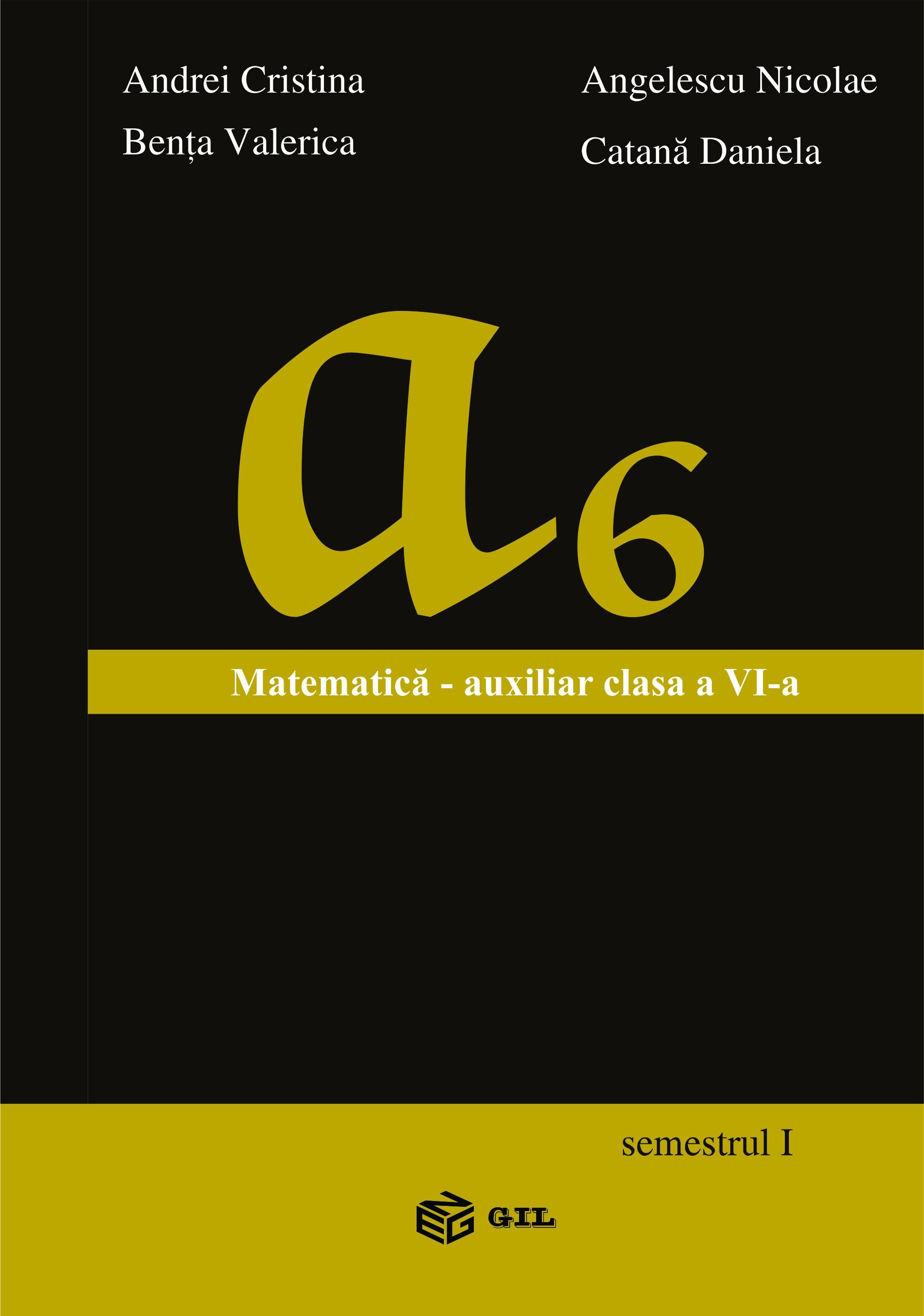 Matematica Auxiliar clasa a VI-a