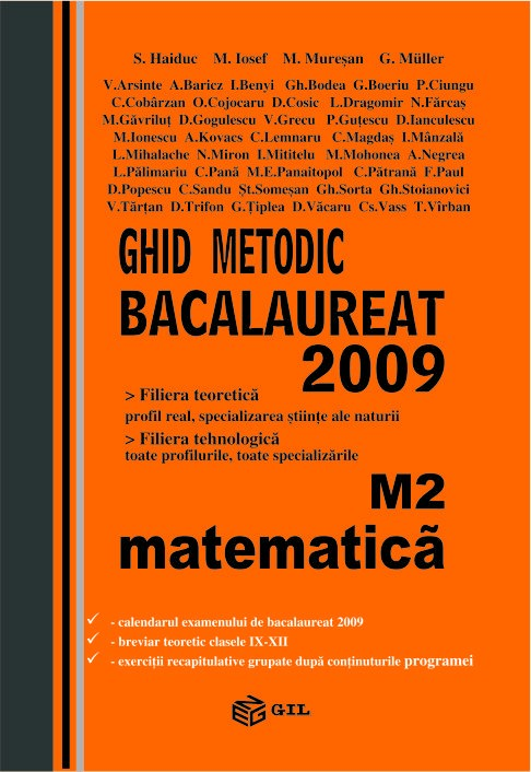 Bacalaureat 2009 M2 (pe teme)