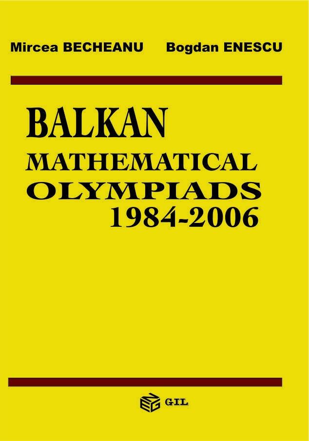 Balkan Mathematical Olympiads 1984-2006