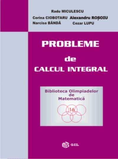 Probleme de calcul integral