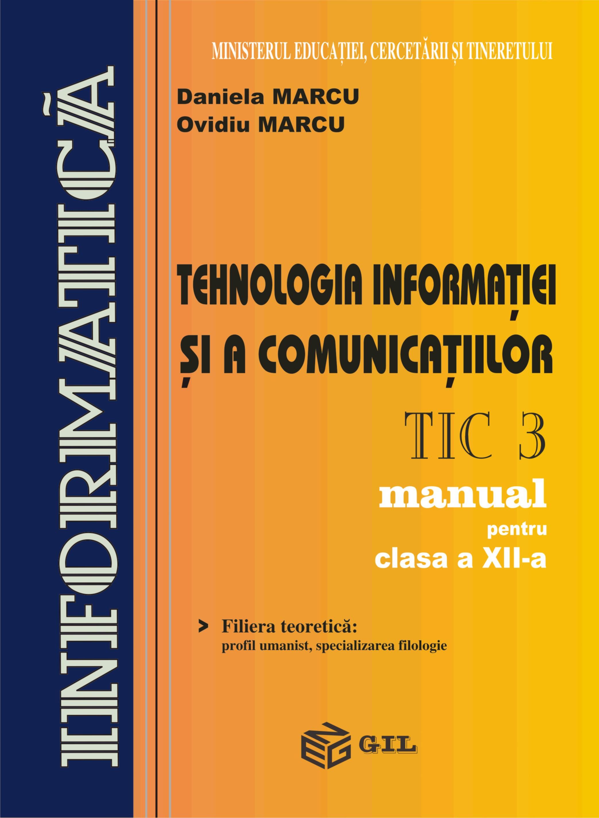 Tehnologia informatiei si a comunicatiilor (TIC 3)