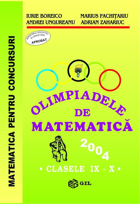 Olimpiade de matematica cls. IX-X 2004