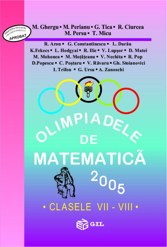 Olimpiade de matematica cls. VII-VIII 2005