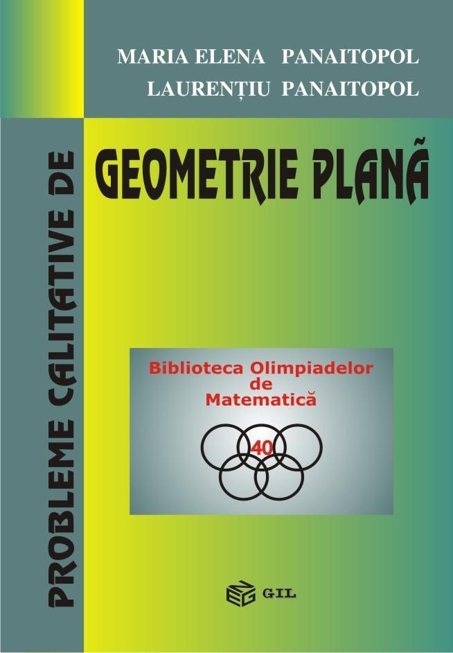 Probleme calitative de geometrie plana
