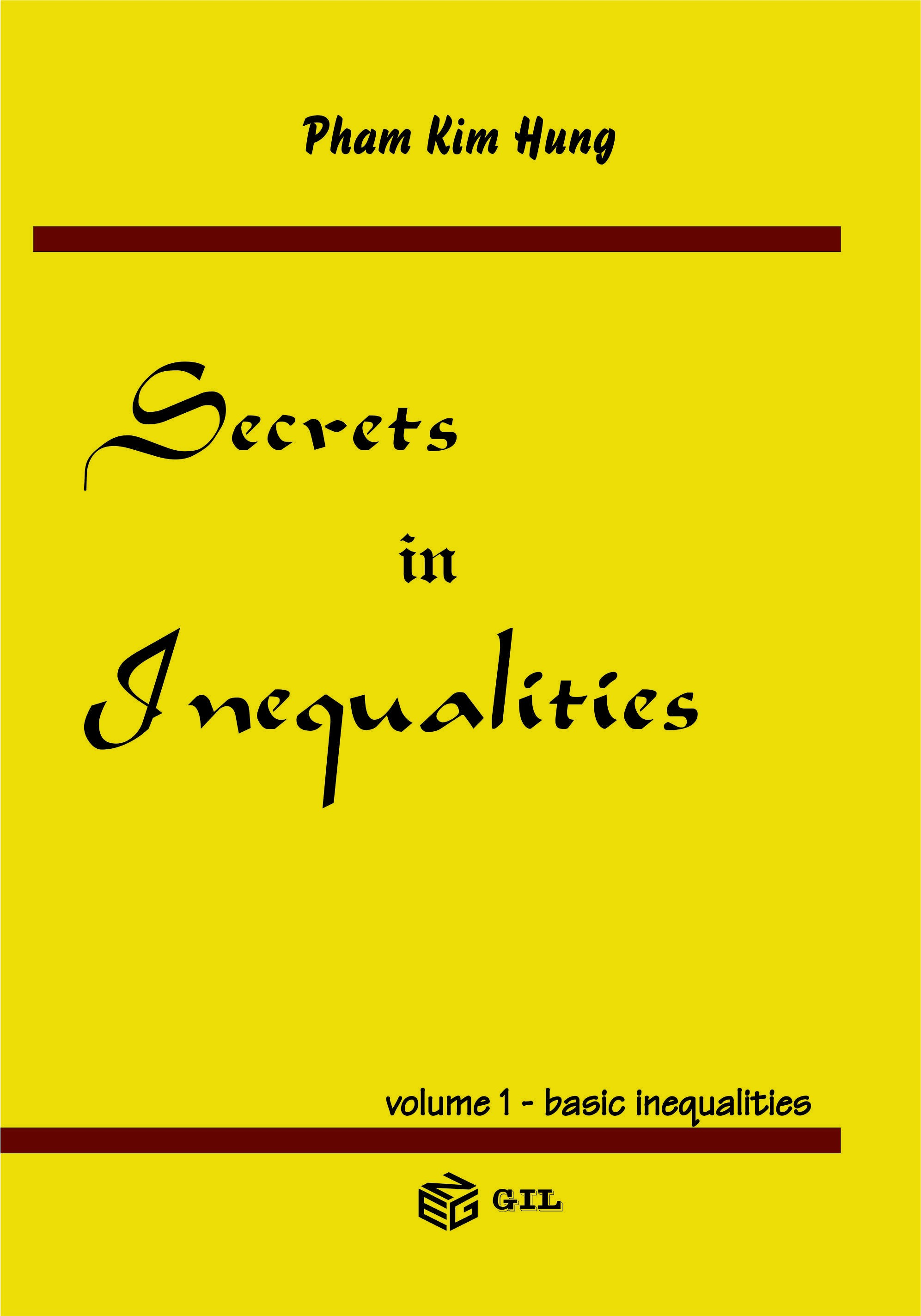 Secrets in Inequalities - basic inequalities