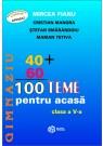 100 teme pentru acasa. Clasa a V-a