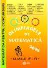 Olimpiadele de matematica 2008 - clasele IV-VI