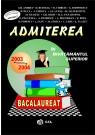 Admiterea in invatamantul superior 2003-2004