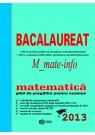 Matematica - Bacalaureat M1 2013
