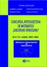 Concursul interjudetean Gheorghe Vranceanu