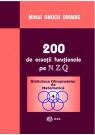 200 de ecuatii functionale pe N, Z, Q