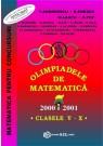 Olimpiade de matematica cls. V-X 2001