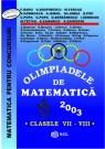 Olimpiade de matematica cls. VII-VIII 2003
