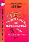 Olimpiade de matematica cls. VII-VIII 2004